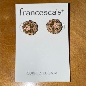 Sphere flower earrings from Frnacesca's